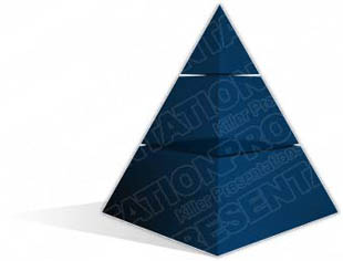 Download pyramid a 3blue PowerPoint Graphic and other software plugins for Microsoft PowerPoint