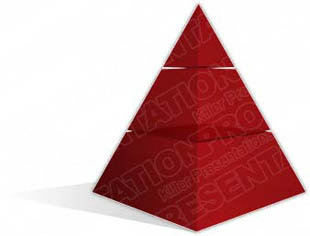 Download pyramid a 3red PowerPoint Graphic and other software plugins for Microsoft PowerPoint