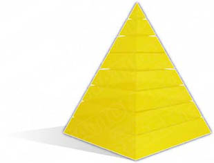 Download pyramid a 8yellow PowerPoint Graphic and other software plugins for Microsoft PowerPoint