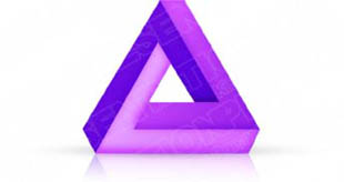 Download 3dtriangle03 purple PowerPoint Graphic and other software plugins for Microsoft PowerPoint