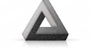Download 3dtriangle05 gray PowerPoint Graphic and other software plugins for Microsoft PowerPoint