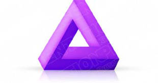 Download 3dtriangle05 purple PowerPoint Graphic and other software plugins for Microsoft PowerPoint