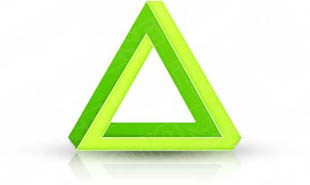 Download 3dtriangle02 green PowerPoint Graphic and other software plugins for Microsoft PowerPoint