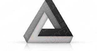 Download 3dtriangle04 gray PowerPoint Graphic and other software plugins for Microsoft PowerPoint