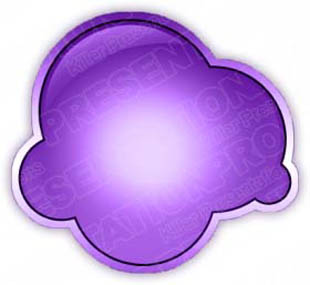 Download cloudbubblepurple PowerPoint Graphic and other software plugins for Microsoft PowerPoint