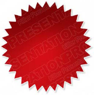 download high quality royalty free starburst glow red powerpoint
