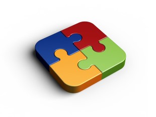 Puzzles PPT presentation powerpoint graphic image