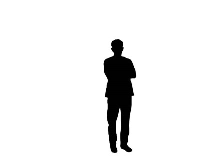 Young man standing silhouette  vexelscom