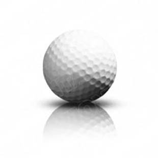 download high quality royalty free golfball powerpoint graphics and rh presentationpro com Golf Tee Vector Silhouette Vector Golf Balls