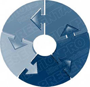 Download arrowcircleholder05 blue PowerPoint Graphic and other software plugins for Microsoft PowerPoint