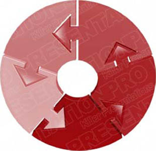 Download arrowcircleholder05 red PowerPoint Graphic and other software plugins for Microsoft PowerPoint