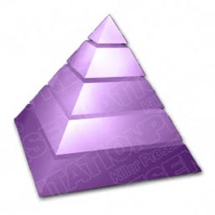 Download pyramid 01 purple PowerPoint Graphic and other software plugins for Microsoft PowerPoint