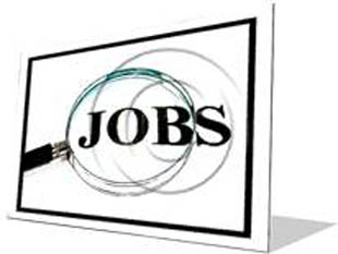 Job Search F Color Pencil PPT PowerPoint Image Picture
