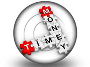 Money Time Puzzle S PPT PowerPoint Image Picture