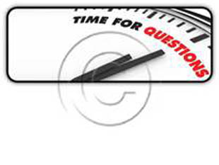 Question Time Rectangle PPT PowerPoint Image Picture