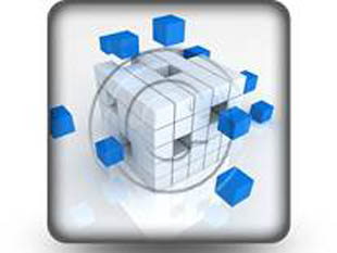 Teamwork Cube Square PPT PowerPoint Image Picture