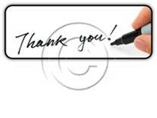 Thanks Pen Rectangle PPT PowerPoint Image Picture