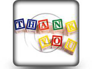 Thankyou Squarelocks Square PPT PowerPoint Image Picture