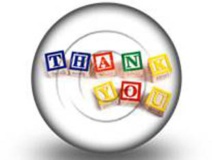 Thankyou Blocks S PPT PowerPoint Image Picture