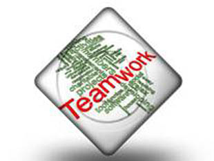 Teamwork Word Cloud Dia PPT PowerPoint Image Picture