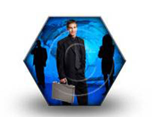 hex-suit PPT PowerPoint Image Picture
