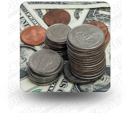 Cash Change 01 Square PPT PowerPoint Image Picture
