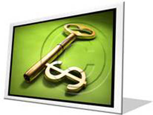 Financial Key Success Frame PPT PowerPoint Image Picture