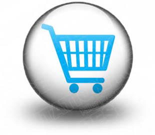 Download High Quality Royalty Free Shopping Cart Blue S
