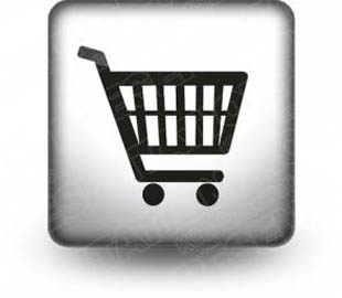 Download shopping cart gray b PowerPoint Icon and other software plugins for Microsoft PowerPoint