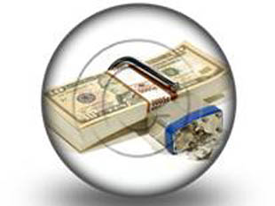money lock PPT PowerPoint Image Picture