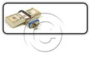 money lock Rectangle PPT PowerPoint Image Picture