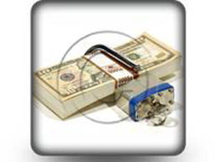 money lock s PPT PowerPoint Image Picture