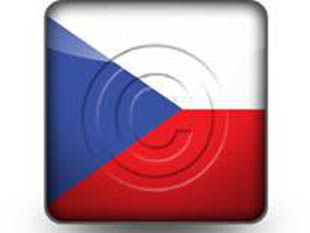 Download czech republic flag b PowerPoint Icon and other software plugins for Microsoft PowerPoint