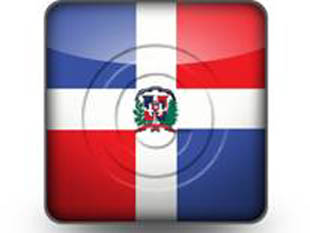 Download dominican republic flag b PowerPoint Icon and other software plugins for Microsoft PowerPoint