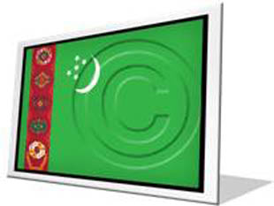 Download turkmenistan flag f PowerPoint Icon and other software plugins for Microsoft PowerPoint