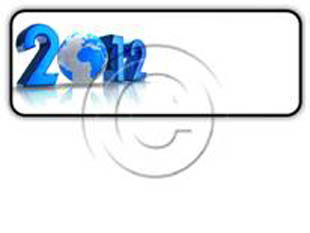 2012 GLOBE Rectangle PPT PowerPoint Image Picture
