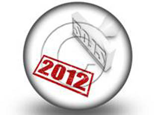 2012 STAMP Circle PPT PowerPoint Image Picture