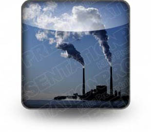 Download coal plant b PowerPoint Icon and other software plugins for Microsoft PowerPoint
