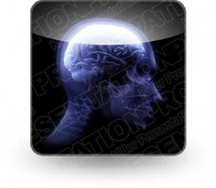 Download human brain b PowerPoint Icon and other software plugins for Microsoft PowerPoint