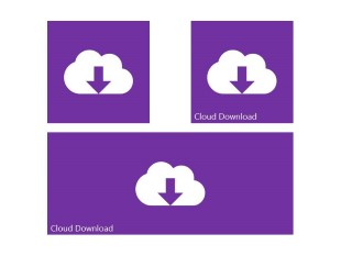 Cloud Download PPT PowerPoint Image Picture