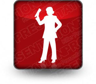 Download silhouettes 10 b red PowerPoint Icon and other software plugins for Microsoft PowerPoint