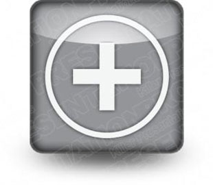 Download button plus gray PowerPoint Icon and other software plugins for Microsoft PowerPoint