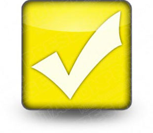 Download checkmark yellow PowerPoint Icon and other software plugins for Microsoft PowerPoint