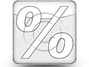 PercentSign Sketch Light PPT PowerPoint Image Picture