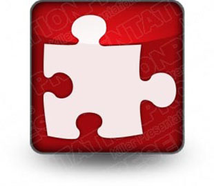 Download puzzle1 red PowerPoint Icon and other software plugins for Microsoft PowerPoint