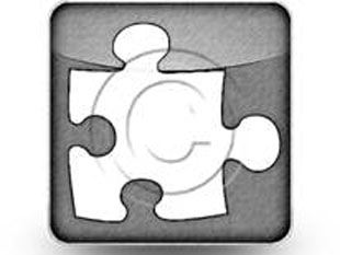 Puzzle1 Sketch Dark PPT PowerPoint Image Picture