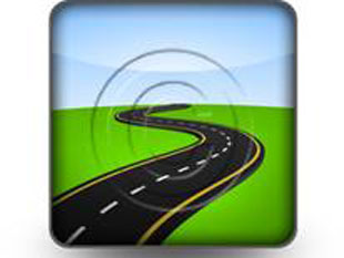 Abstract Road Concept Square PPT PowerPoint Image Picture