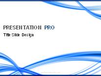 Abstract - Lines and Curves PPT presentation powerpoint template