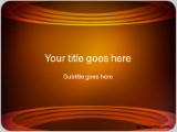 Download ringed orange PowerPoint Template and other software plugins for Microsoft PowerPoint