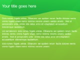 Download halfandhalf lime PowerPoint Template and other software plugins for Microsoft PowerPoint